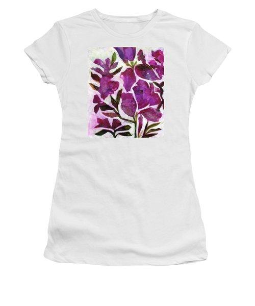 Azaleas Women's T-Shirt (Athletic Fit)