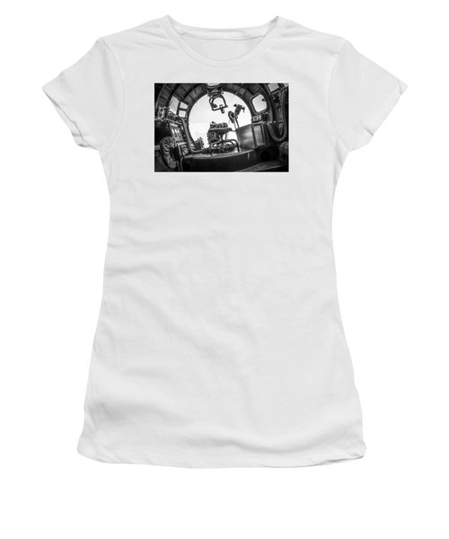 B-17 Bombardier Office Women's T-Shirt (Athletic Fit)