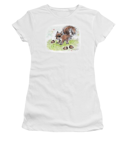 Baby Squirrel Women's T-Shirt