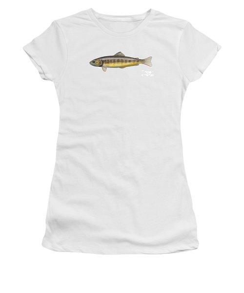 Bachforelle - Indigene - Autochthone- Beekforel - Oering - Truite De Riviere - Trucha Comun Women's T-Shirt