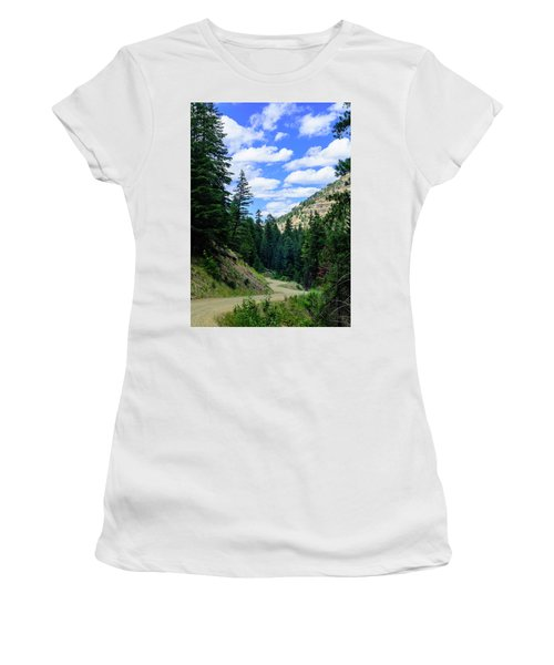 Back Roads Women's T-Shirt (Athletic Fit)