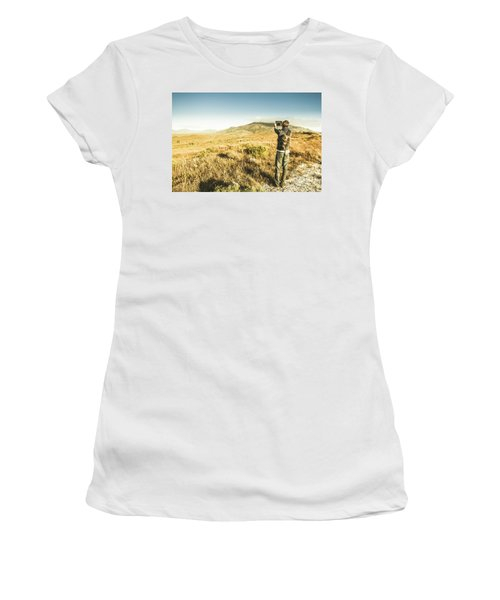 Backpacking Wonders Women's T-Shirt