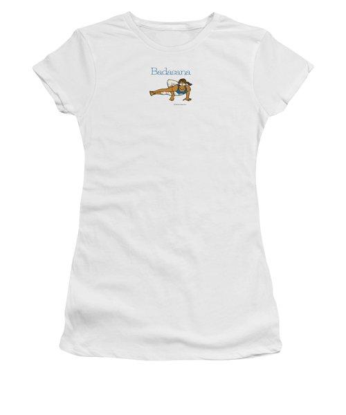 Badasana 2 Women's T-Shirt (Athletic Fit)