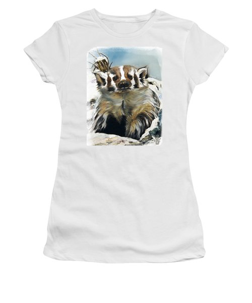 Badger - Guardian Of The South Women's T-Shirt (Athletic Fit)