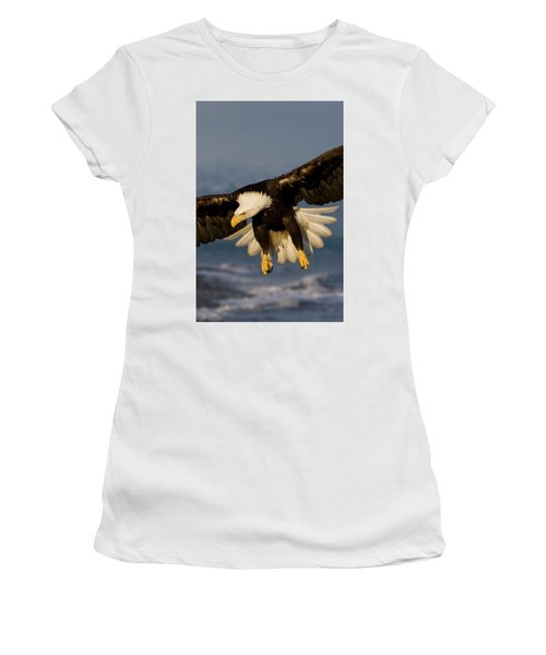 Bald Eagle In Action Women's T-Shirt