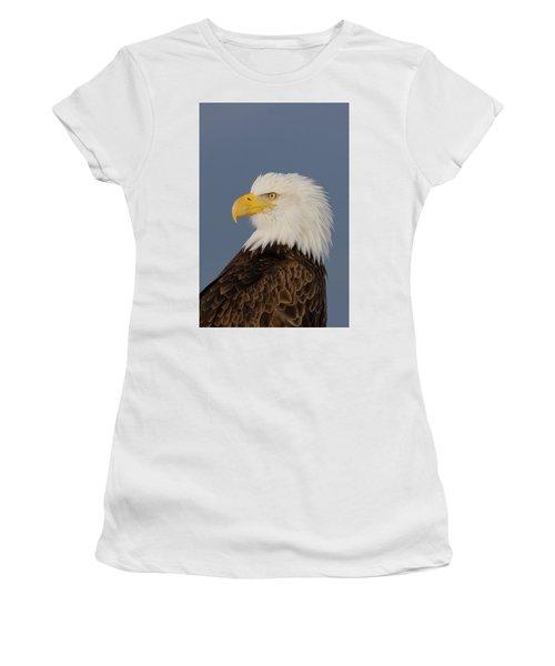 Bald Eagle Portrait Women's T-Shirt