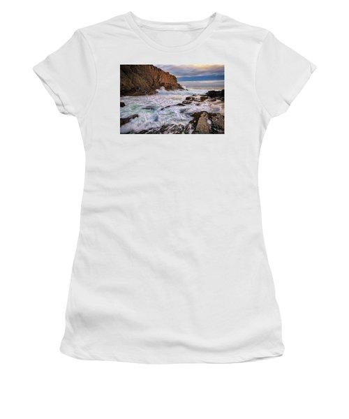 Bald Head Cliff Women's T-Shirt (Junior Cut) by Rick Berk