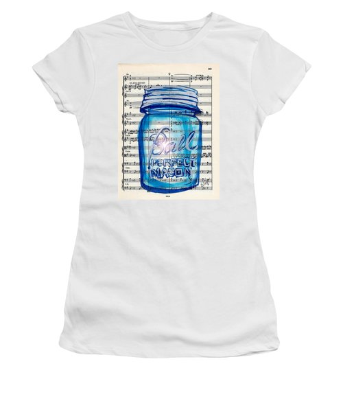 Ball Mason Jar Classical #168 Women's T-Shirt (Athletic Fit)