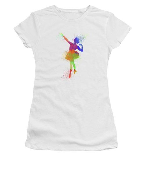 Ballet Watercolor 1 Women's T-Shirt (Athletic Fit)