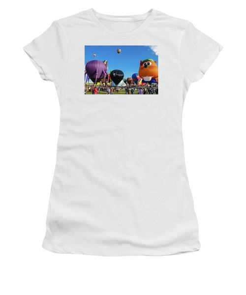 Balloon Fiesta Albuquerque I Women's T-Shirt