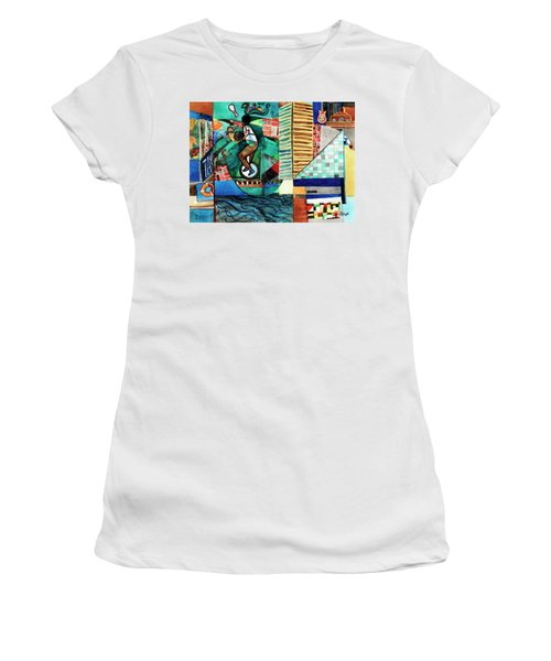 Baltimore Inner Harbor Street Performer Women's T-Shirt