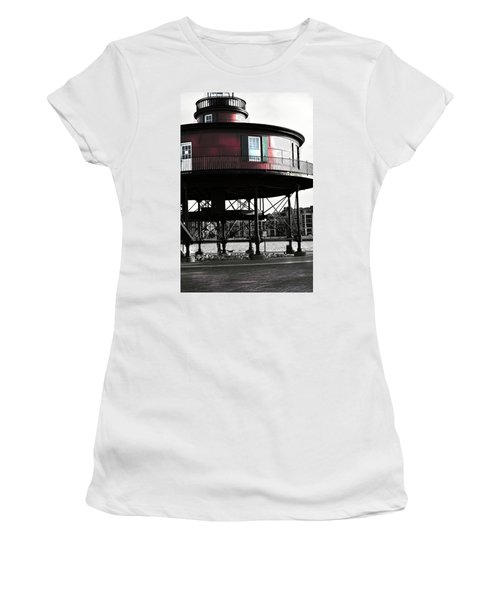 Baltimore Lighthouse Women's T-Shirt (Athletic Fit)