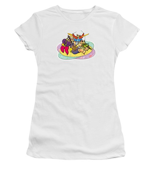 Band Of Foxes Women's T-Shirt (Junior Cut) by Steve Ellis