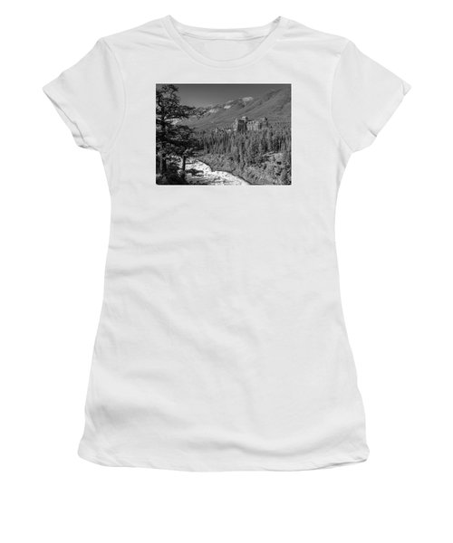 Banff Springs Hotel Women's T-Shirt (Athletic Fit)