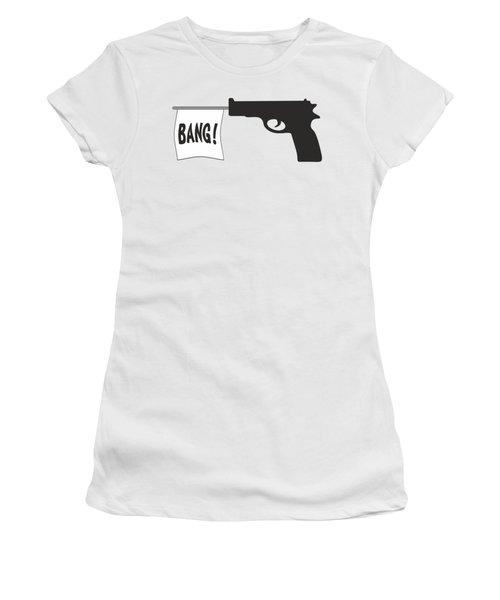 Bang Women's T-Shirt (Junior Cut) by Ericamaxine Price