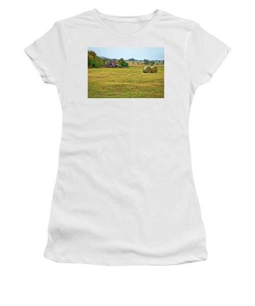 Barn And Field Women's T-Shirt