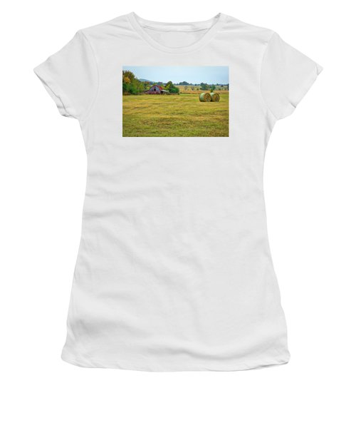 Barn And Field Women's T-Shirt (Athletic Fit)
