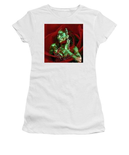 Baroque Meets Oriental Rose Women's T-Shirt
