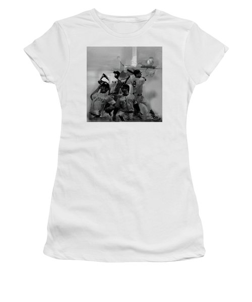 Base Ball Players Women's T-Shirt (Athletic Fit)