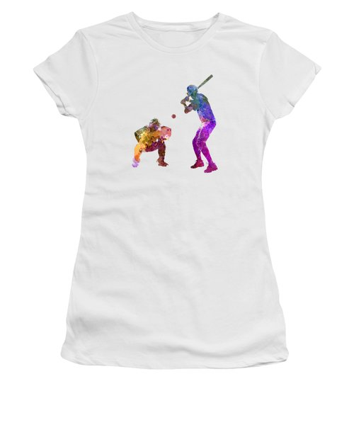 Baseball Players 01 Women's T-Shirt (Athletic Fit)