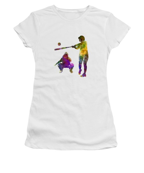 Baseball Players 02 Women's T-Shirt (Athletic Fit)