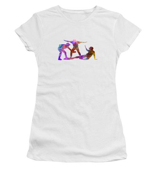 Baseball Players 03 Women's T-Shirt (Junior Cut) by Pablo Romero