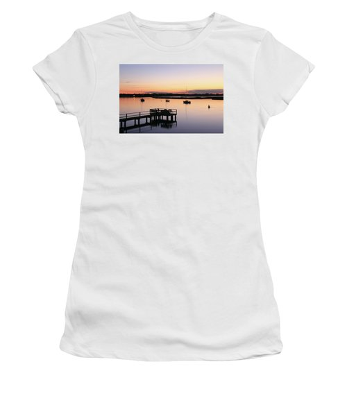 Bass River Before Sunrise Women's T-Shirt (Athletic Fit)