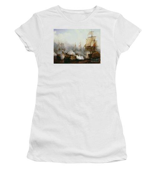Battle Of Trafalgar Women's T-Shirt