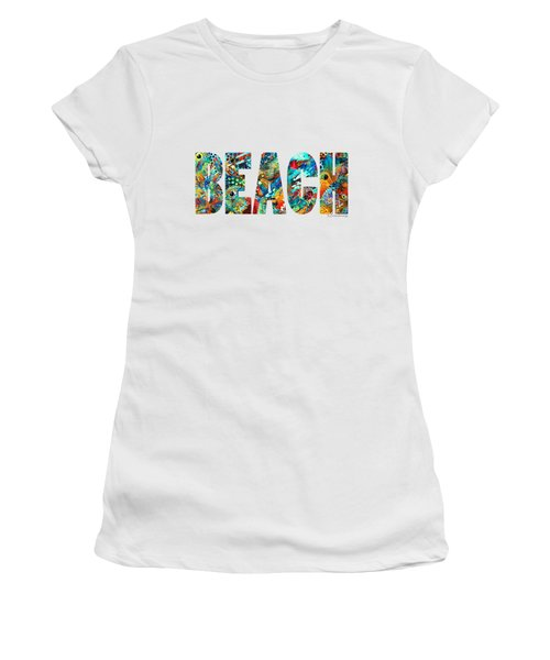 Beach Art - Beachy Keen - By Sharon Cummings Women's T-Shirt