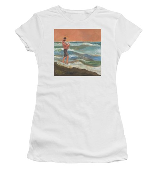 Beach Baby Women's T-Shirt (Athletic Fit)