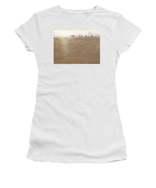 Beach Bocce Bikes Women's T-Shirt