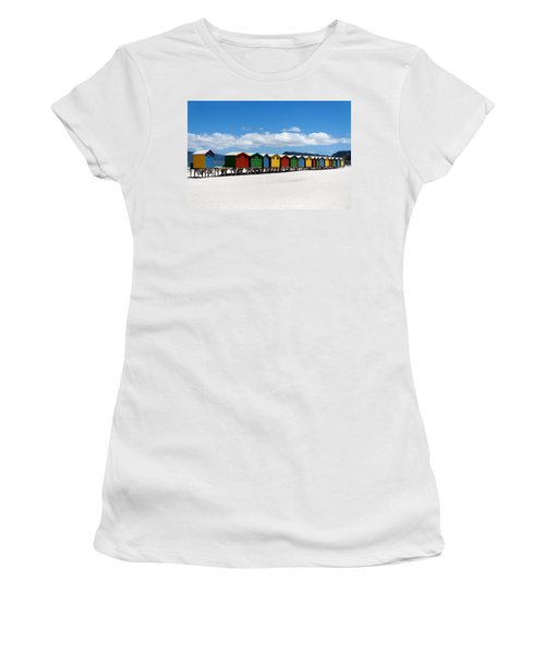 Beach Cabins  Women's T-Shirt