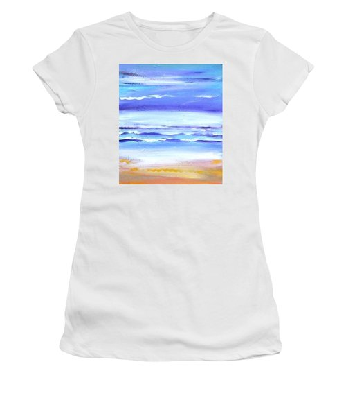 Beach Dawn Women's T-Shirt (Junior Cut) by Winsome Gunning