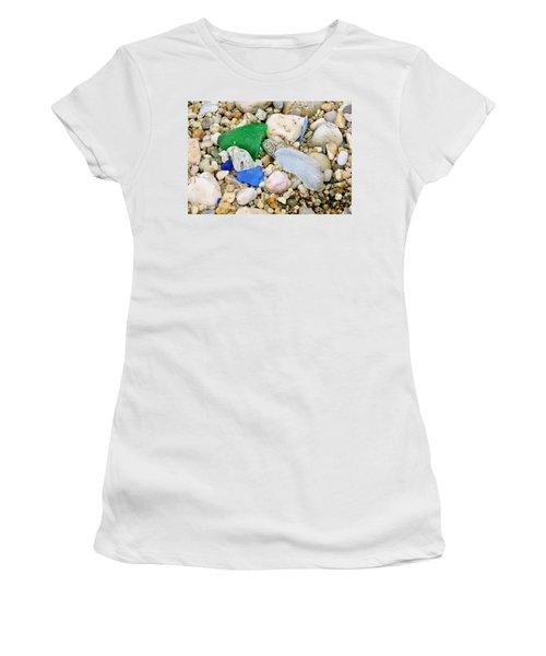 Beach Glass Women's T-Shirt