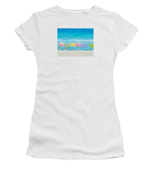 Beach Painting - Color Of Summer Women's T-Shirt