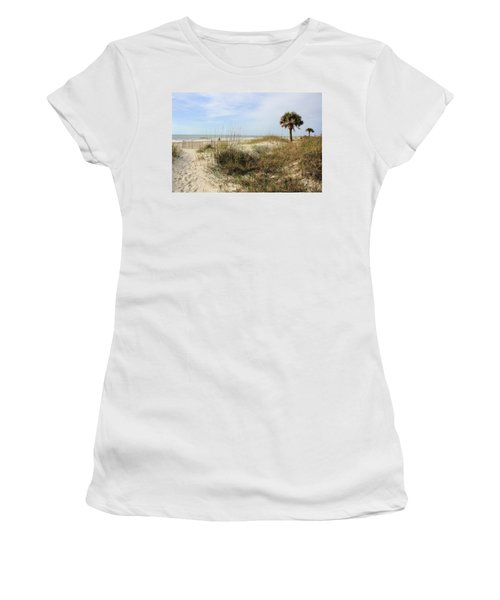 Beach Path Women's T-Shirt