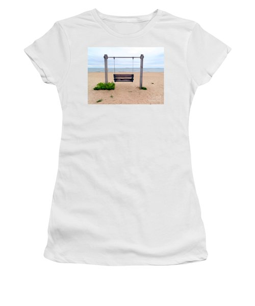 Beach Swing Women's T-Shirt (Athletic Fit)