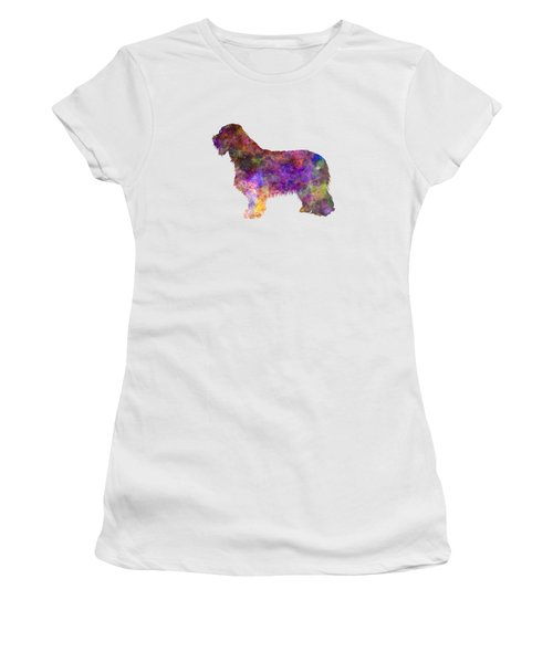 Bearded Collie 01 In Watercolor Women's T-Shirt