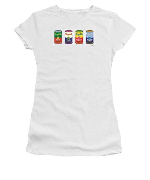 Beatle Soup Cans Women's T-Shirt