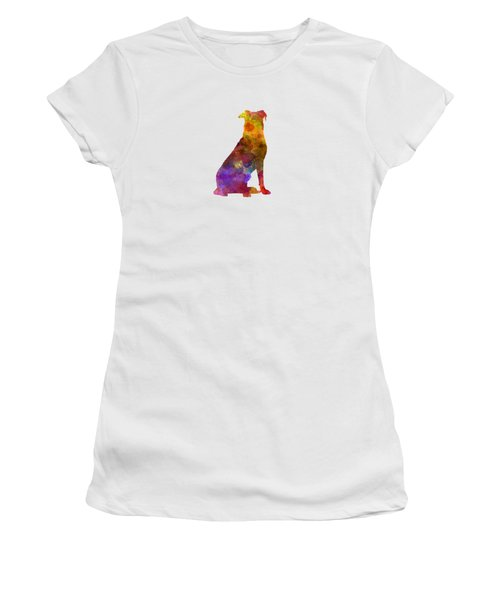 Beauceron In Watercolor Women's T-Shirt (Athletic Fit)