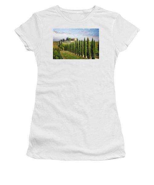 Women's T-Shirt featuring the photograph Beautiful Chianti by Scott Kemper