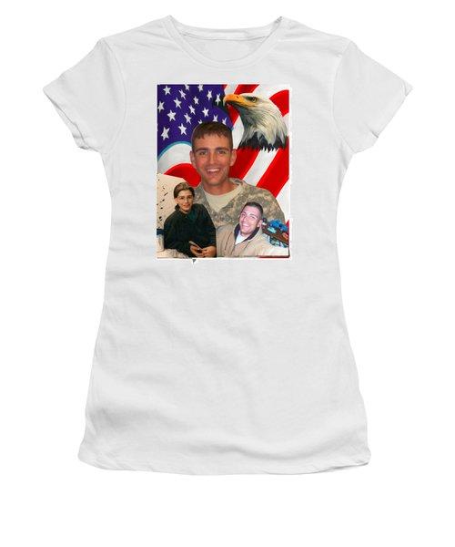 Beautiful Hero Women's T-Shirt (Junior Cut) by Ken Pridgeon