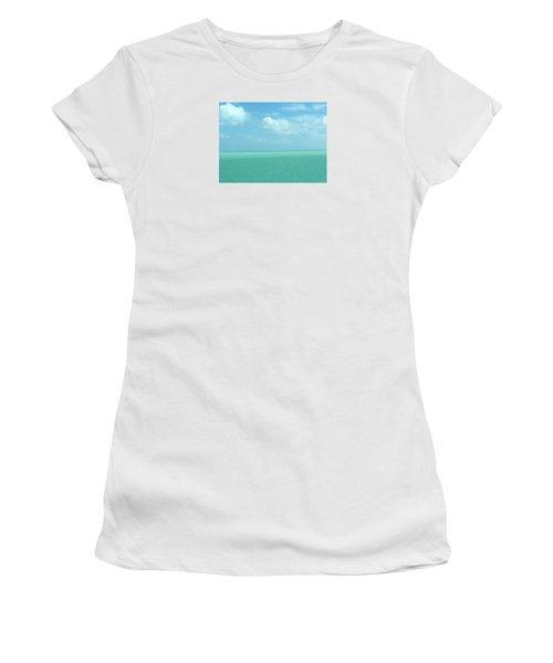Women's T-Shirt (Junior Cut) featuring the photograph Beautiful Waters by Robin Regan