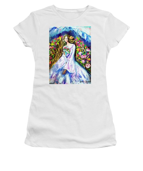 Beautiful World Women's T-Shirt (Athletic Fit)