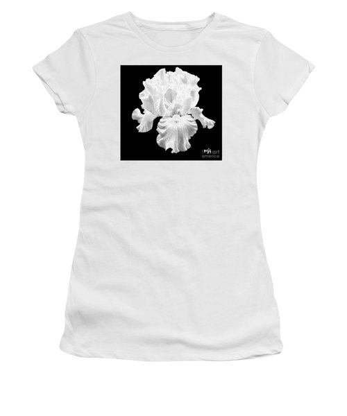 Beauty Queen In Black And White Women's T-Shirt (Athletic Fit)