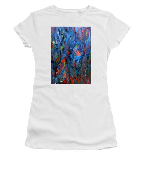 Because Of Love Women's T-Shirt (Athletic Fit)