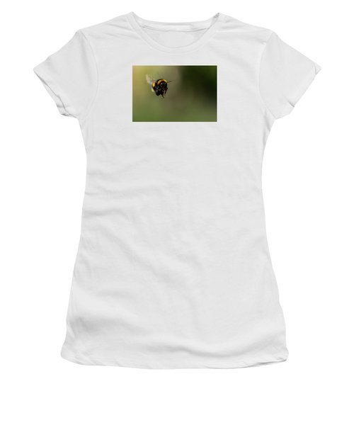 Bee Flying - View From Front Women's T-Shirt