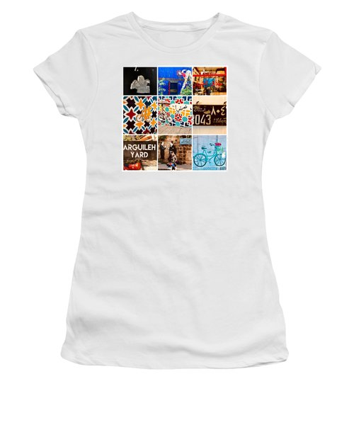 Beirut Colorful Life Women's T-Shirt (Athletic Fit)
