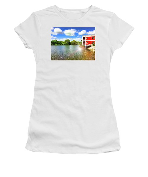Belize River House Reflection Women's T-Shirt (Athletic Fit)