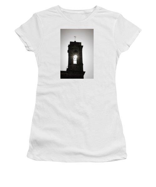 Bell Burst Women's T-Shirt (Junior Cut) by Deborah Scannell